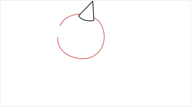 How to draw Weedle step (2)