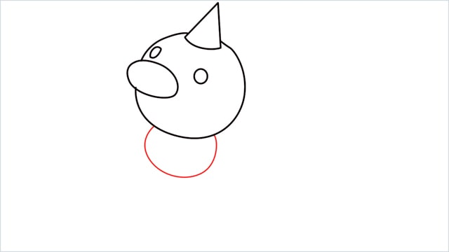 How to draw Weedle step (5)
