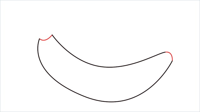 How to draw a Banana step (3)