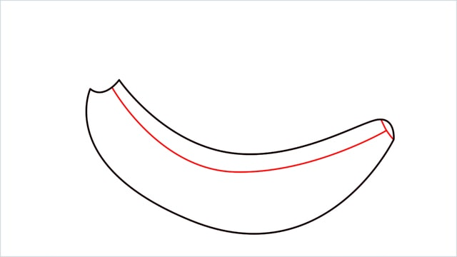 How to draw a Banana step (4)