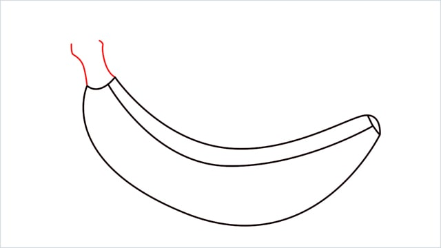 How to draw a Banana step (5)
