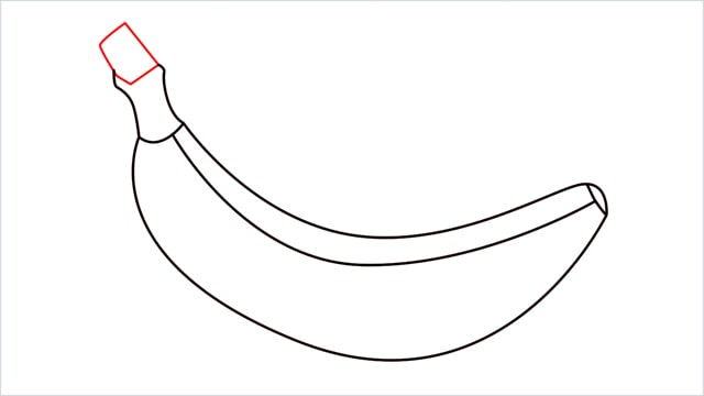 How to draw a Banana step (6)