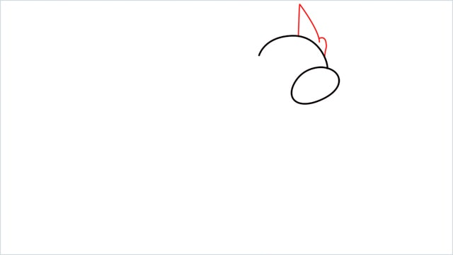 How to draw a Dratini step (3)