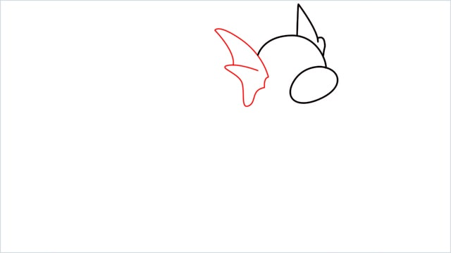 How to draw a Dratini step (4)