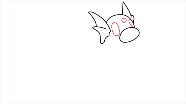 How to draw a Dratini step (5)