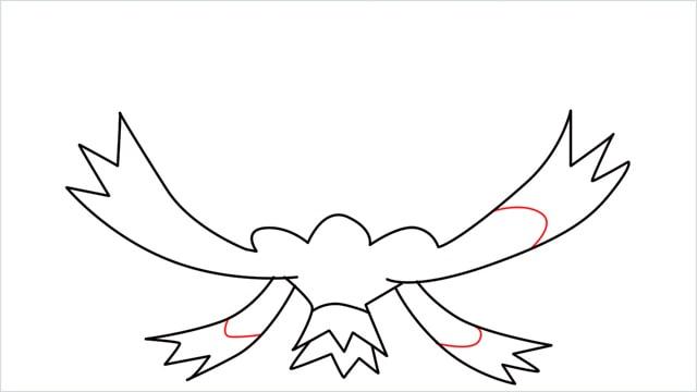 How to draw a Drifblim step (6)