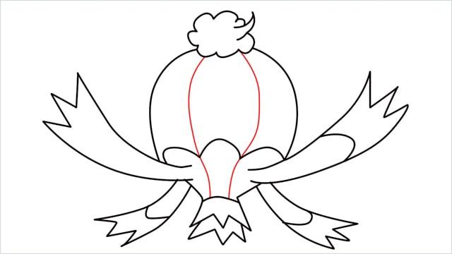How to draw a Drifblim step (9)