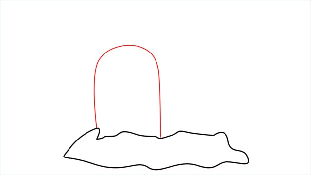 How to draw a Dugtrio step (2)