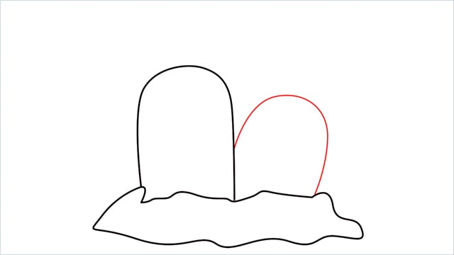How to draw a Dugtrio step (3)