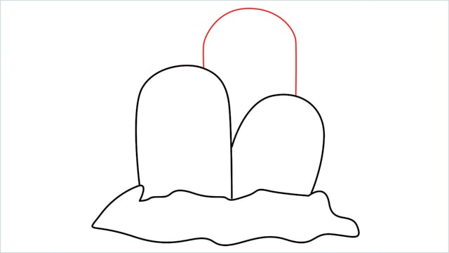 How to draw a Dugtrio step (4)