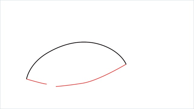 How to draw a Finneon step (2)