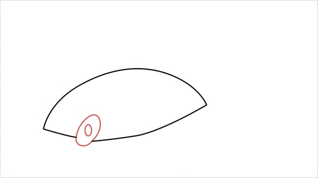 How to draw a Finneon step (3)