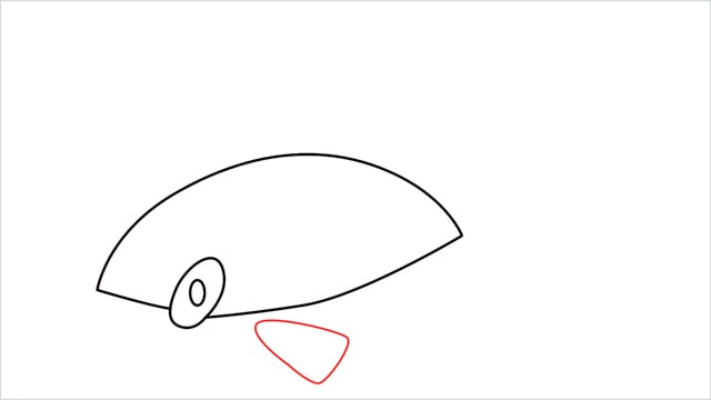 How to draw a Finneon step (4)