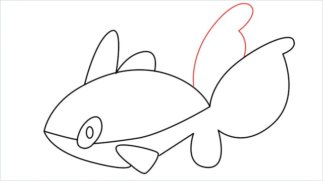 How to draw a Finneon step (8)