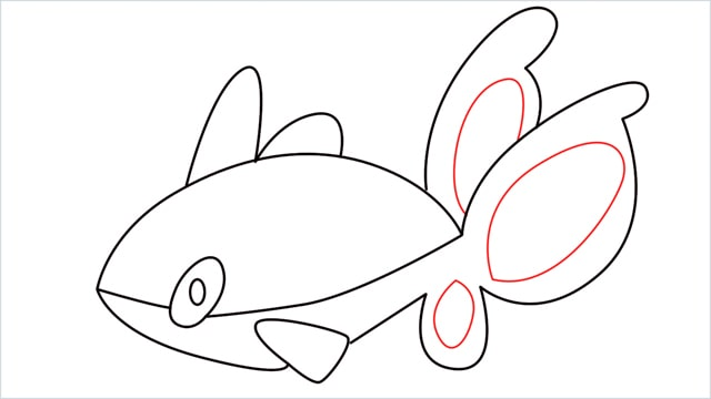 How to draw a Finneon step (9)