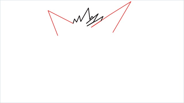 How to draw a Gengar step (2)