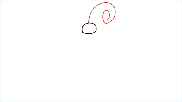 How to draw a Happiny step (2)