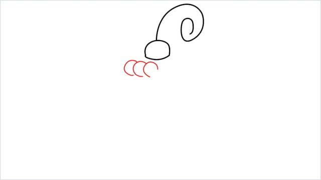 How to draw a Happiny step (3)