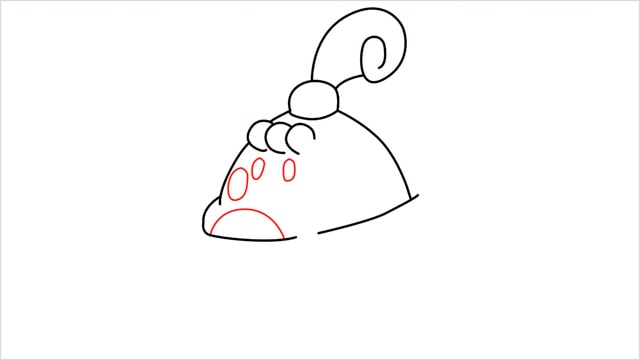 How to draw a Happiny step (6)