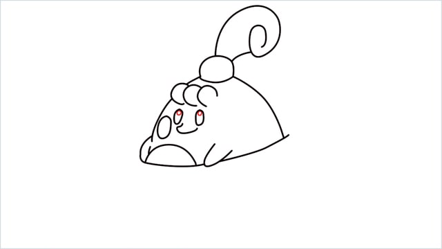 How to draw a Happiny step (8)