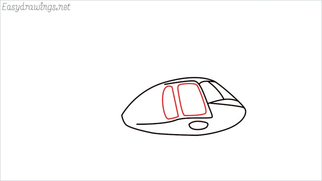 How to draw a Helicopter step (4)