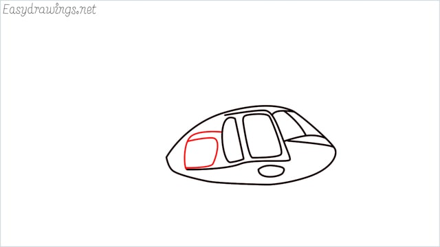 How to draw a Helicopter step (5)