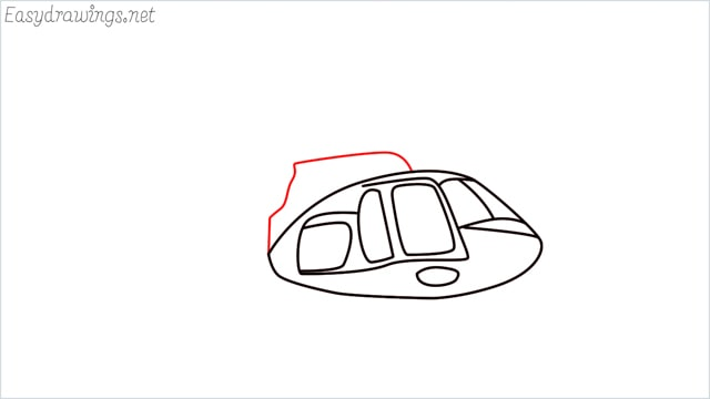 How to draw a Helicopter step (6)