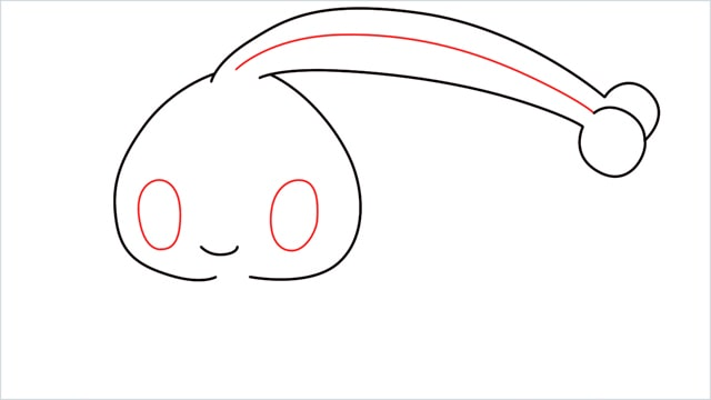 How to draw a Manaphy step (4)