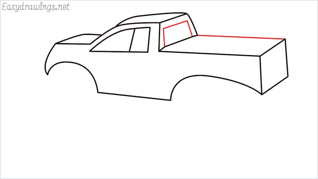 How to draw a Monster truck step (10)