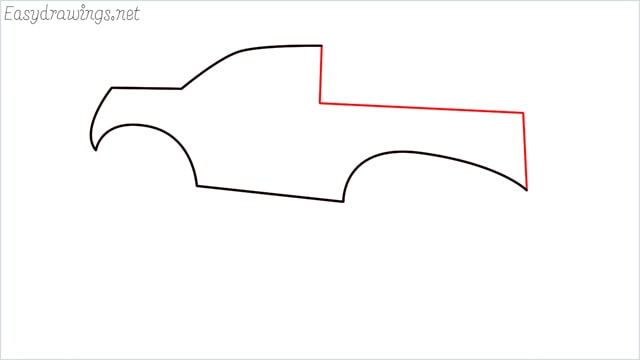 How to draw a Monster truck step (4)
