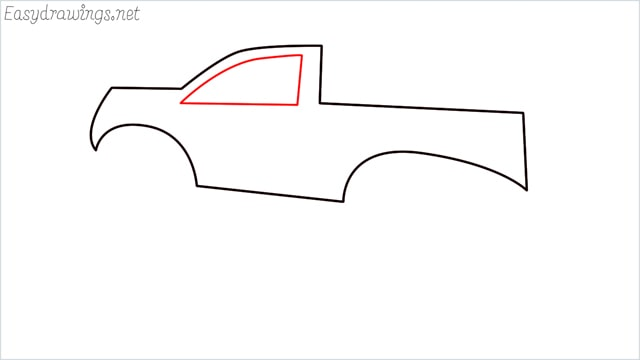 How to draw a Monster truck step (5)