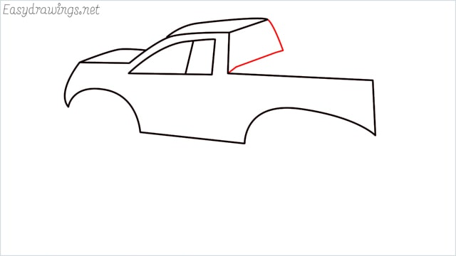 How to draw a Monster truck step (8)