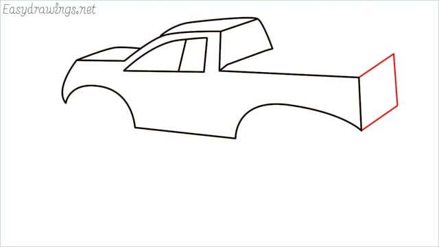 How to draw a Monster truck step (9)