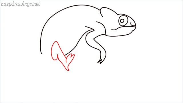 How to draw a Reptile step (8)