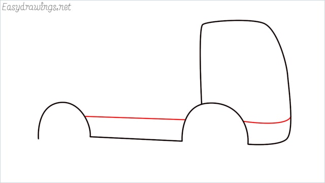 How to draw a cement truck step (4)