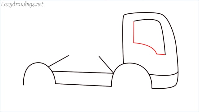 How to draw a cement truck step (6)