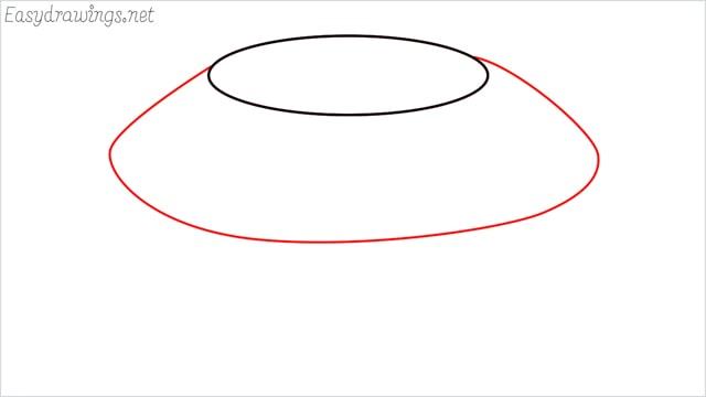 How to draw a diamond step (2)