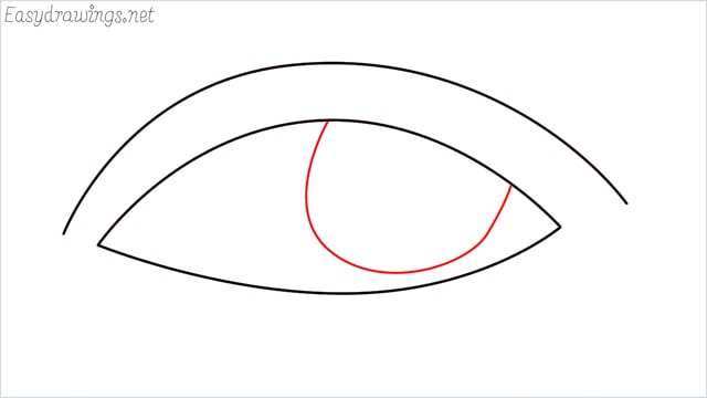How to draw a eye example 2 step (4)