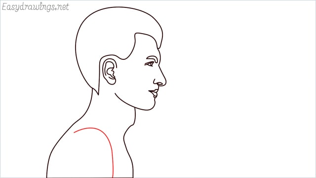 How to draw a face step (11)