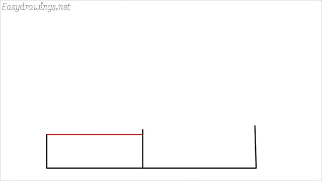 How to draw a farmhouse step (3)