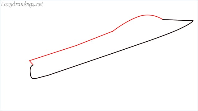 How to draw a fighter jet step (2)