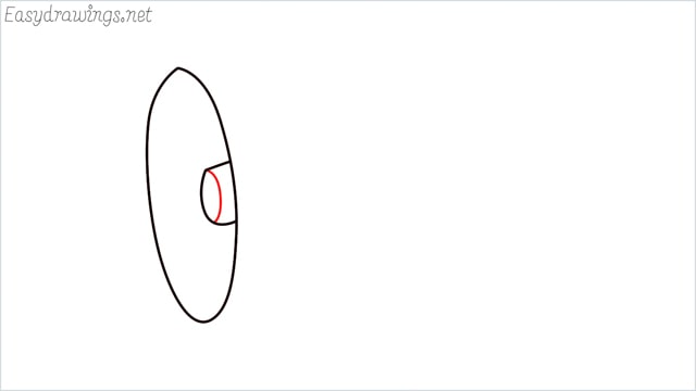 How to draw a megaphone step (3)