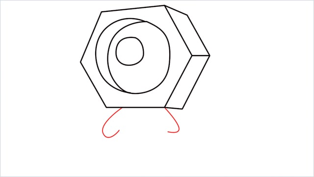 How to draw a meltan step (7)