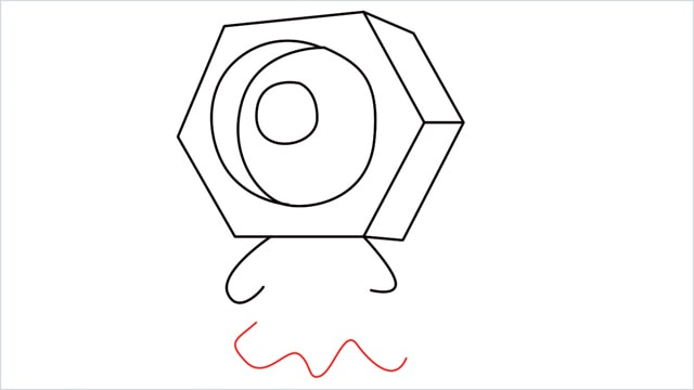 How to draw a meltan step (8)