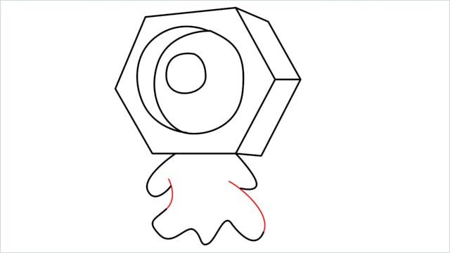 How to draw a meltan step (9)