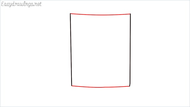 How to draw a mug step (2)