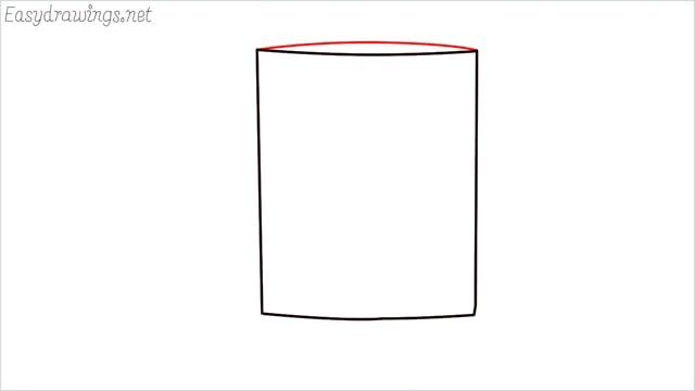 How to draw a mug step (3)