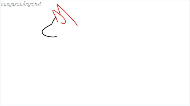 How to draw a my home dog step (2)