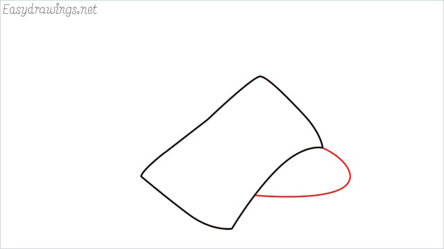 How to draw a sandals step (2)