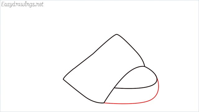 How to draw a sandals step (3)